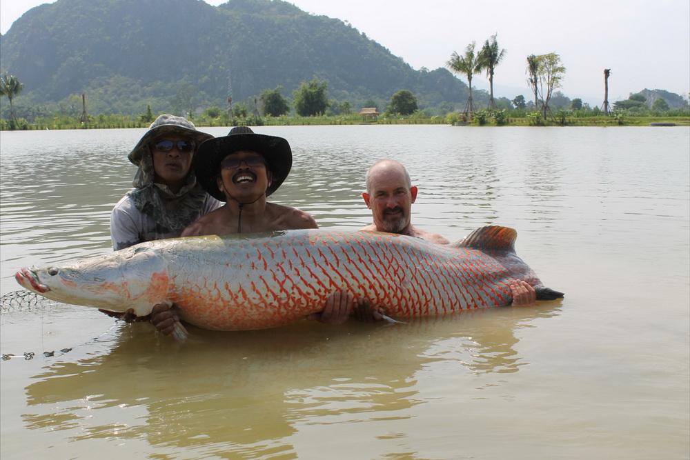 fishing lake Hua Hin
