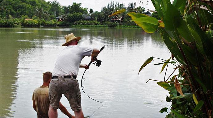 Thailand Fishing Lake